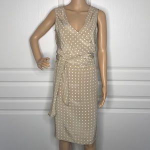 Newport News 100% Silk Skirt & Wrap Top Set